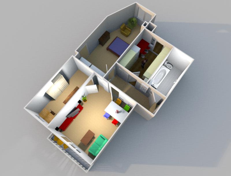 Eine neue Wohnung… (I)