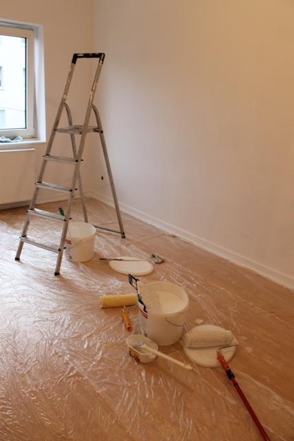 Eine neue Wohnung… (II)