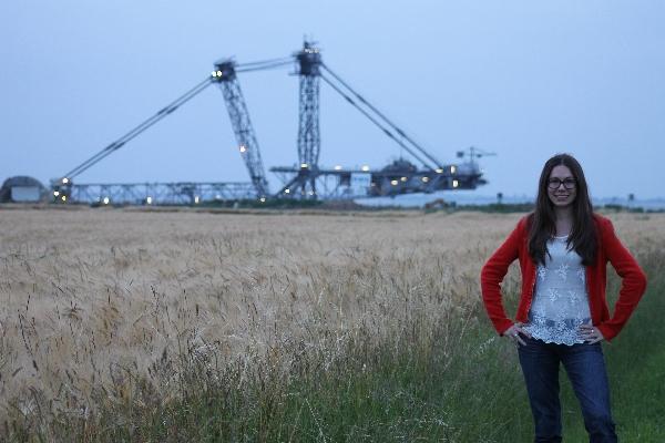 Ausflug zum Braunkohletagebau