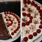Kuchen – halb und halb
