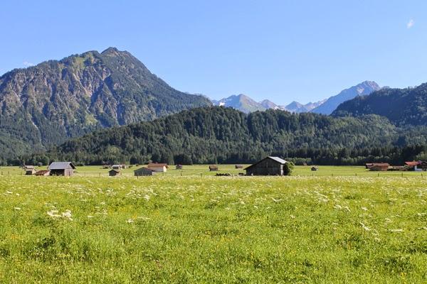 Bayern, Berge, Beauty-Urlaub