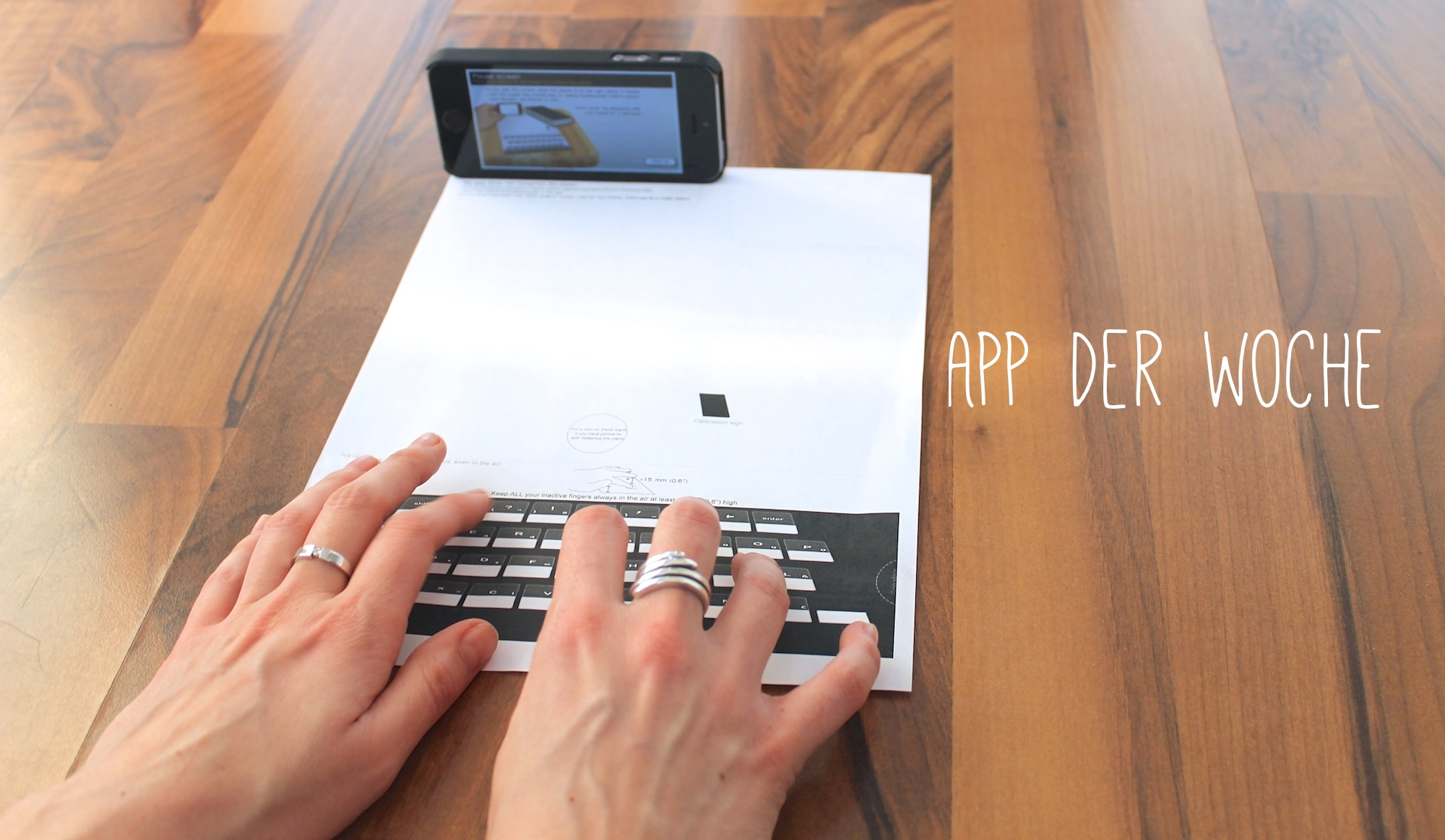 App der Woche: Paper Keyboard