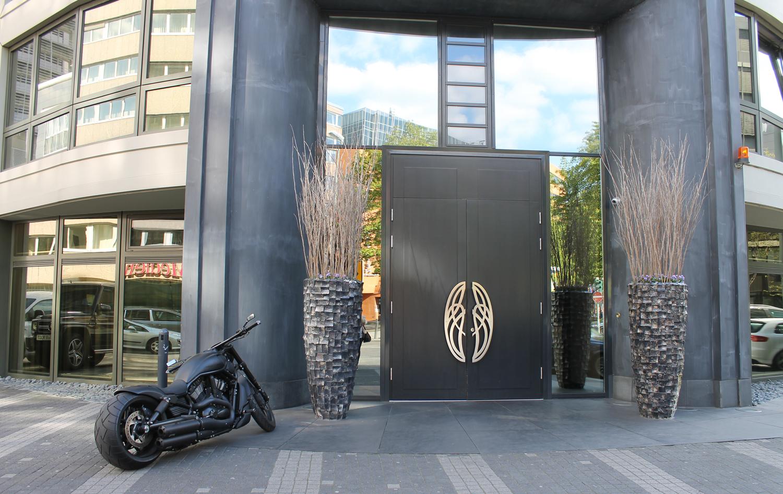 Roomers design hotel in frankfurt edle eleganz webundwelt for Designhotel kamen
