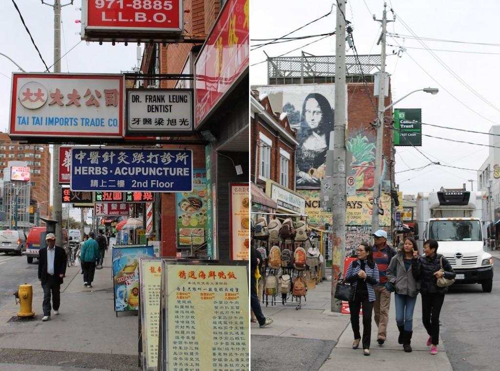 Stadtviertel Toronto