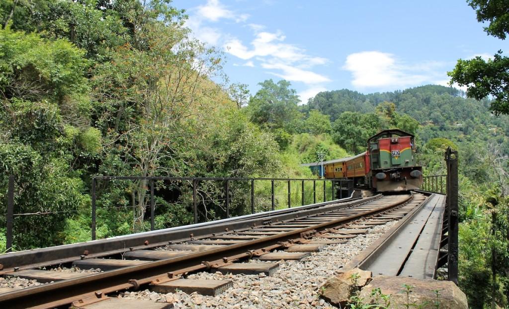 Wandern auf Gleisen