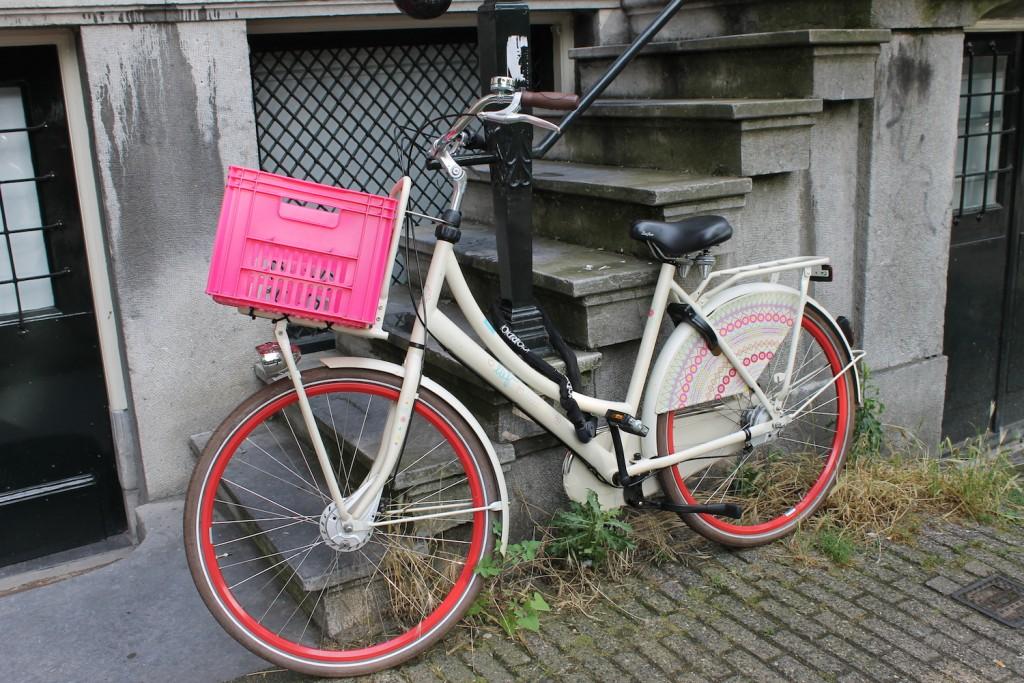 Schönes Fahrrad in Amsterdam