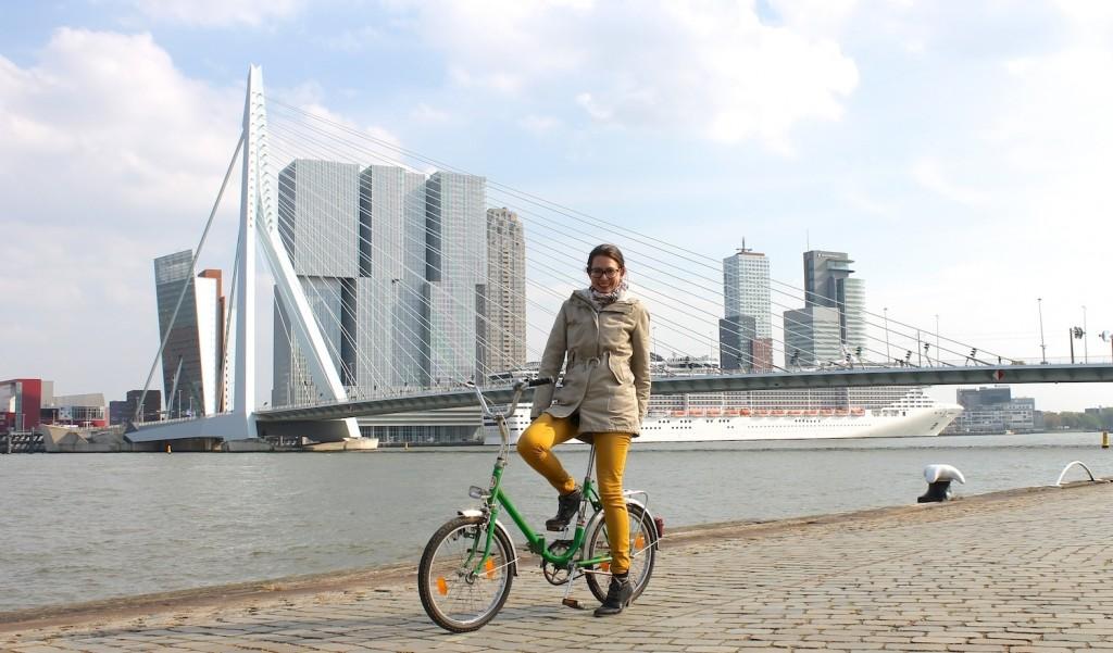 Stadtbesichtigung mit Rad in Rotterdam
