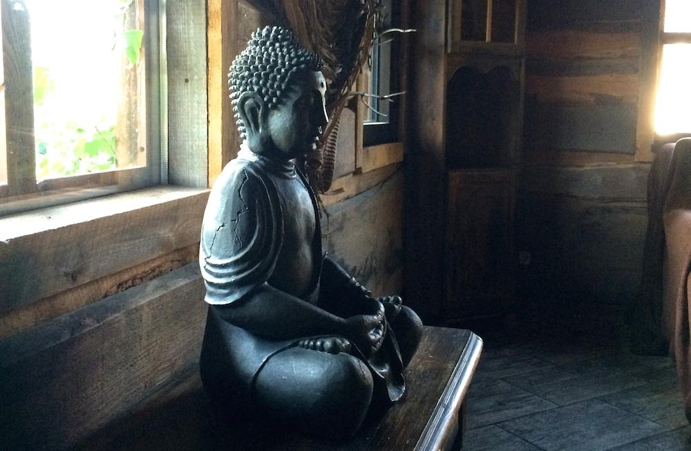 Buddha im Wellnesshotel