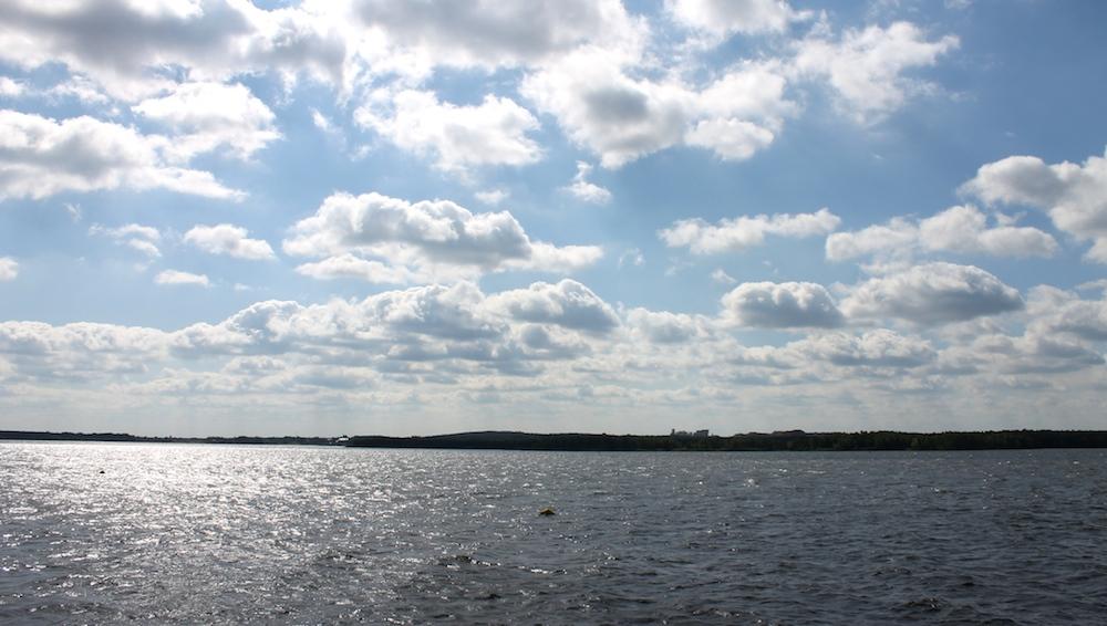 Großer See in der Lausitz