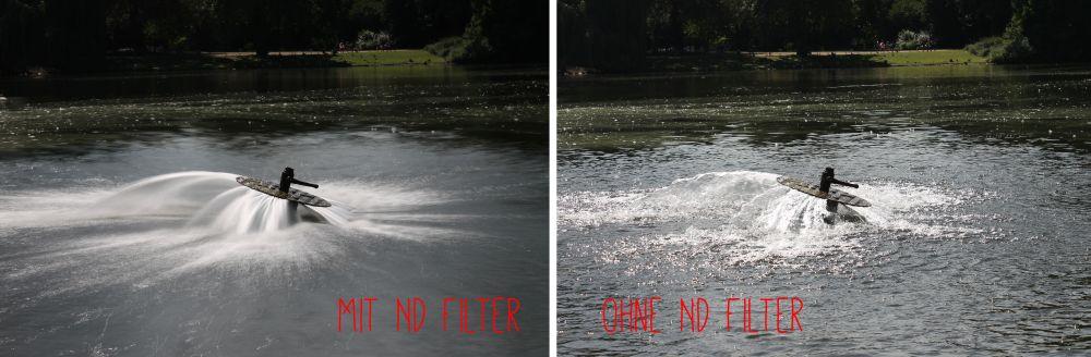 Effekt des ND Filters