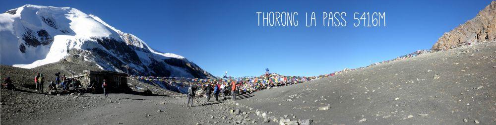 Thorong la Pass im Himalaya