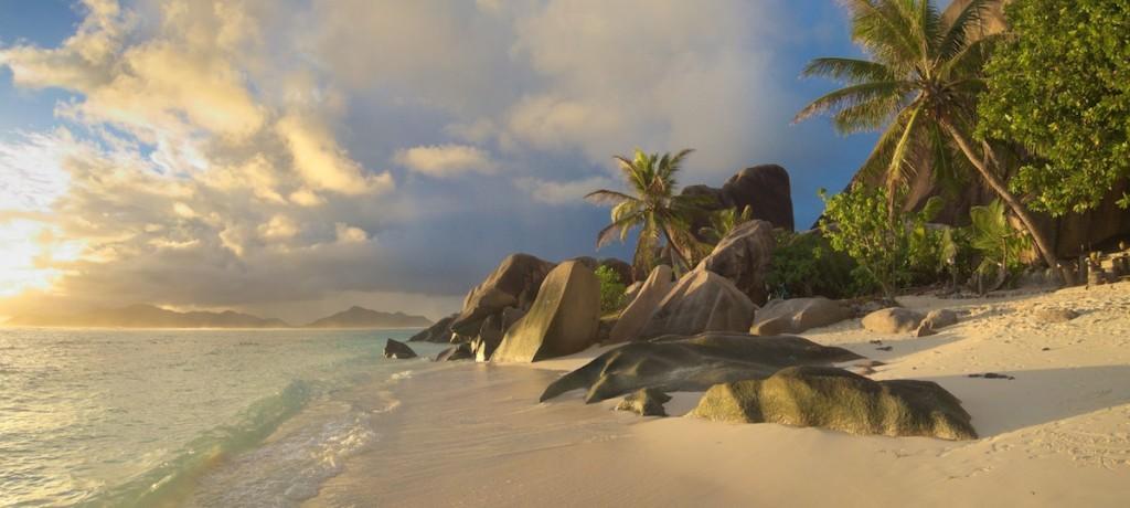 Der schönste Strand der Seychellen