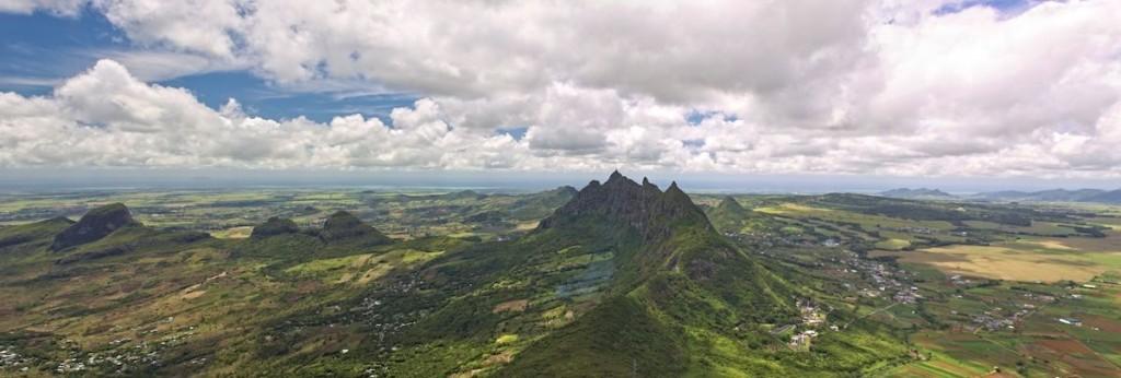 Berg Panorama Mauritius