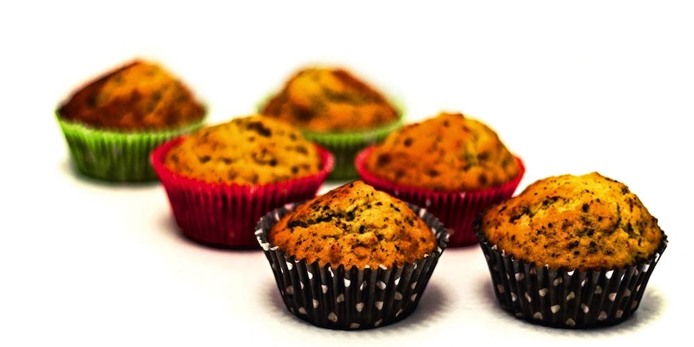 Herbstliche Muffins mit Kürbis