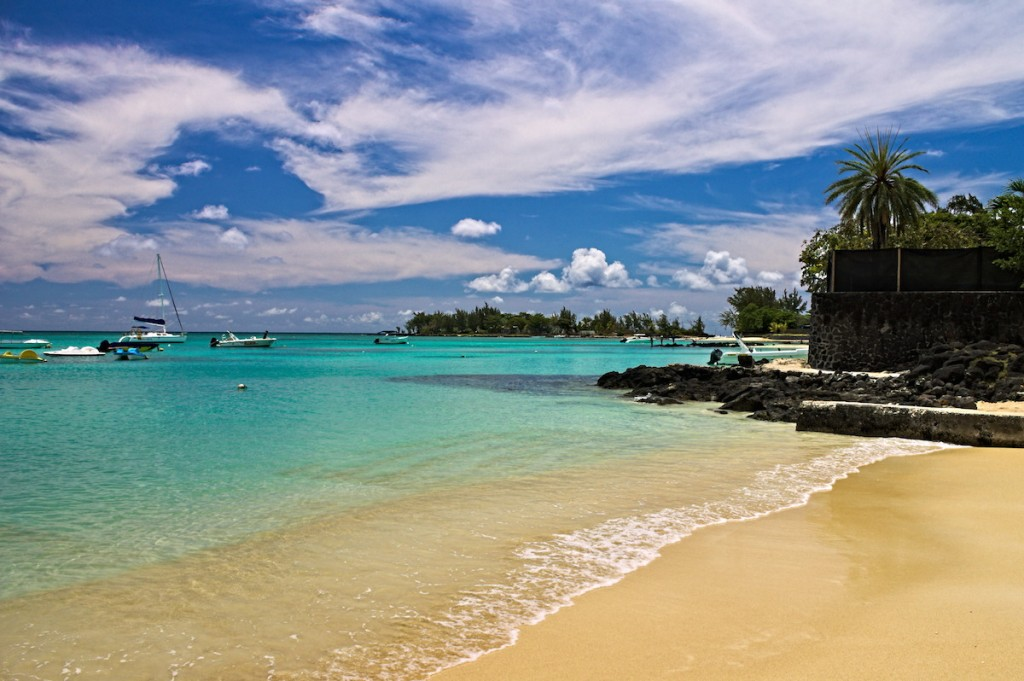Traumstrand Grand Baie Mauritius