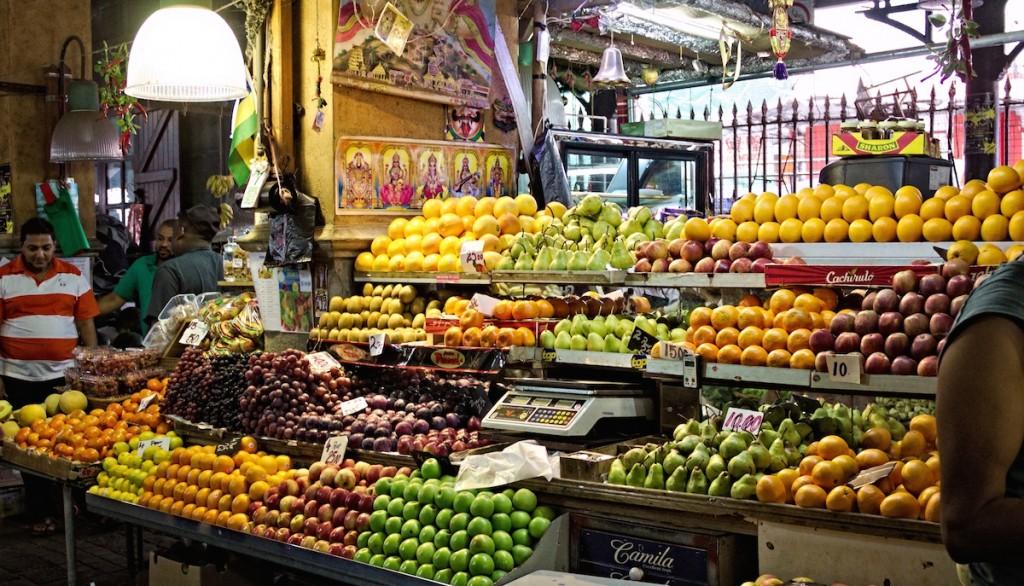 Markt auf Mauritius