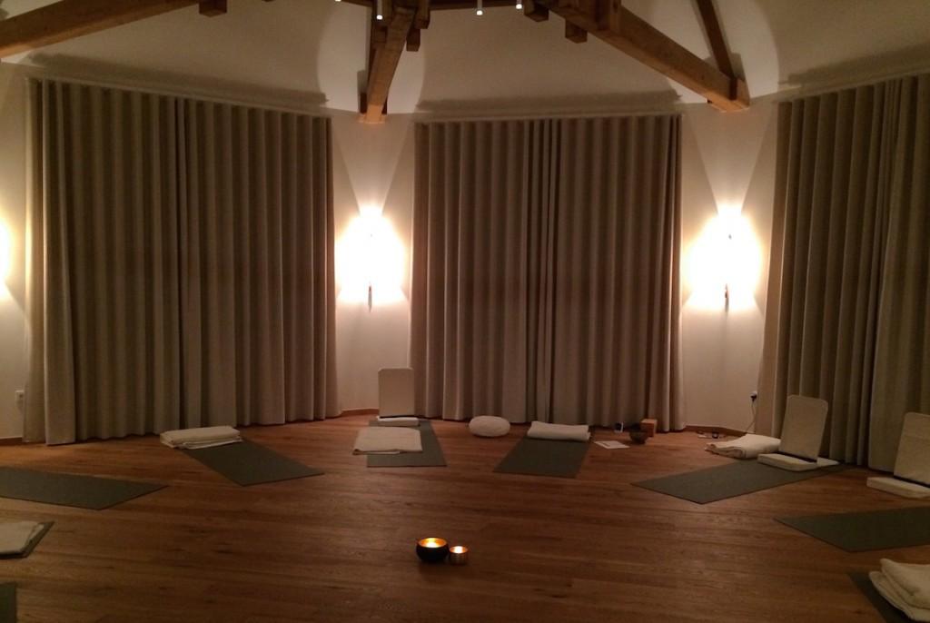 Yoga und Meditations Raum
