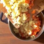 Dampfnudeln mit Kartoffelsuppe | Rezept