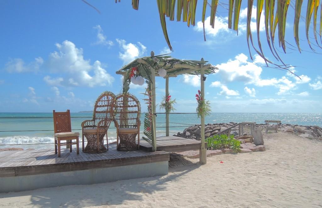 Unsere Hochzeitslocation am Strand
