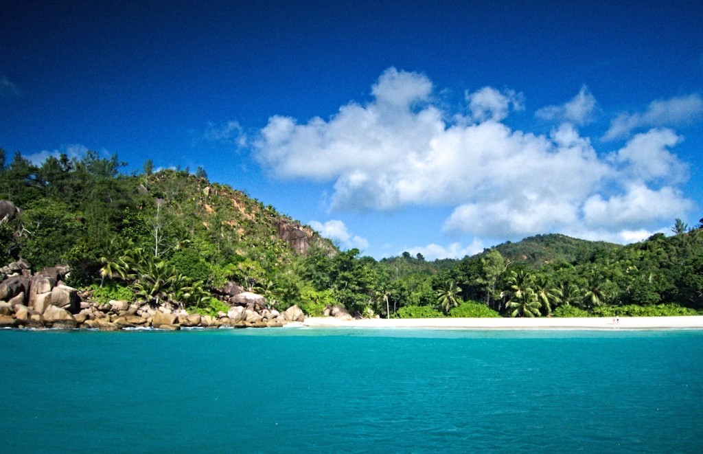 Anse Georgette Traumstrand