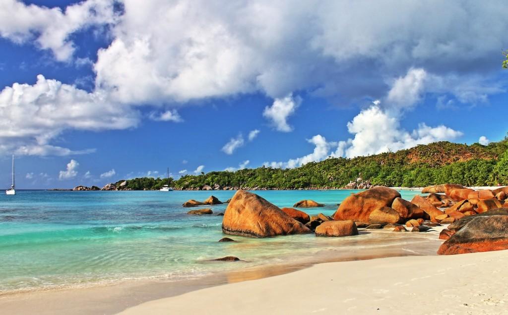 Anse Lazio Strand auf den Seychellen