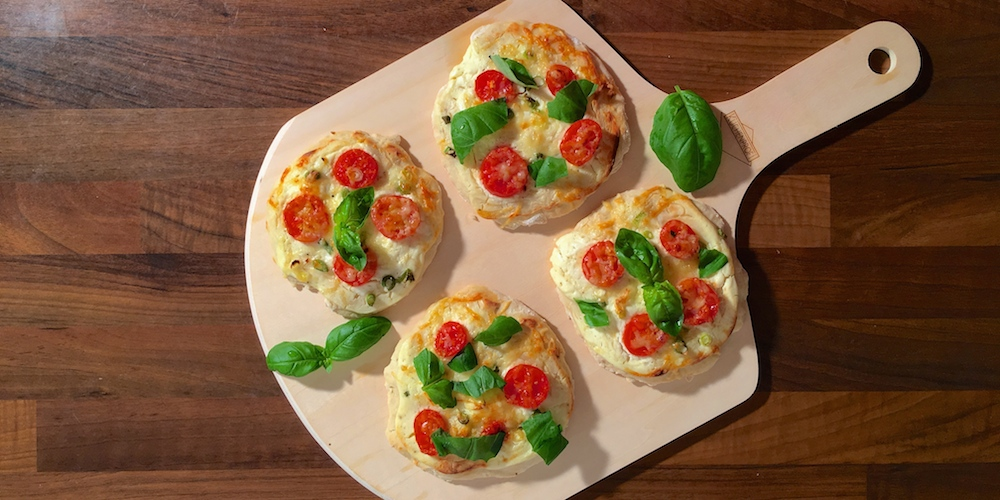 Mini Pizzen | Rezept