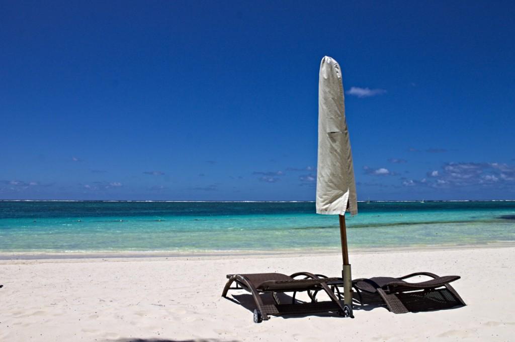 Liegestühle von The Residence Mauritius