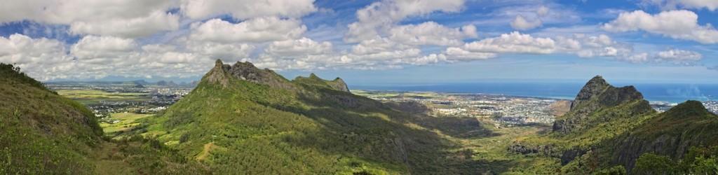 Aussicht über Mauritius