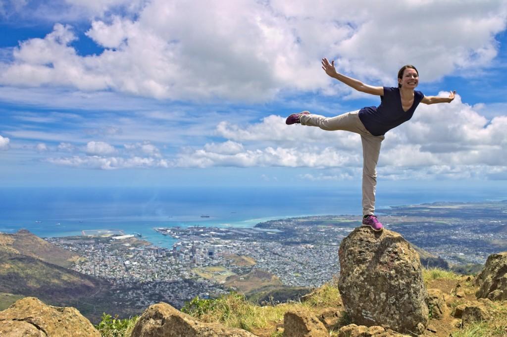 Webundwelt auf Mauritius