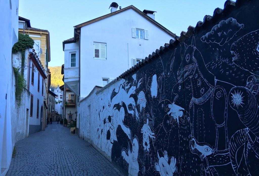 Streetart in Meran