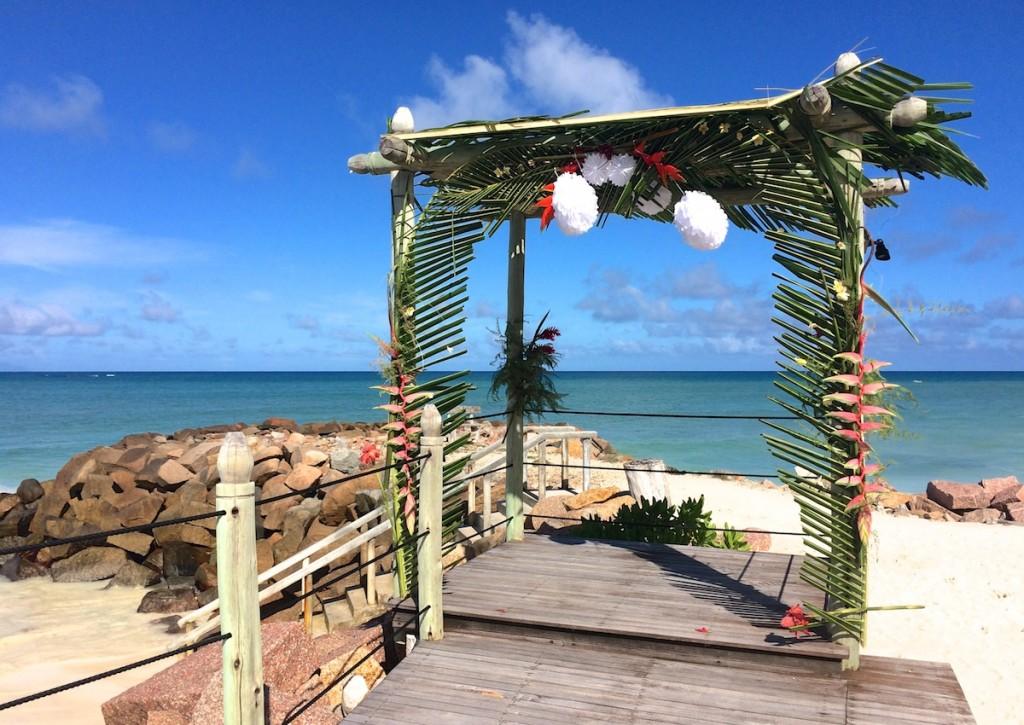 Hochzeitslocation am Strand