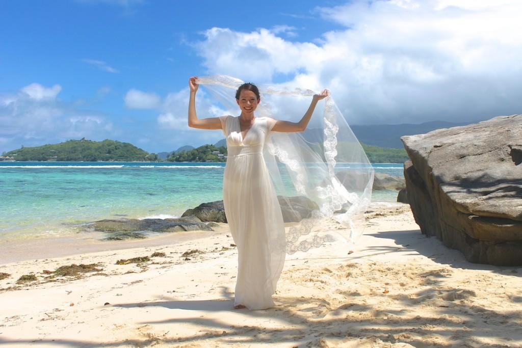 Beach Wedding Essential Hochzeitschleier