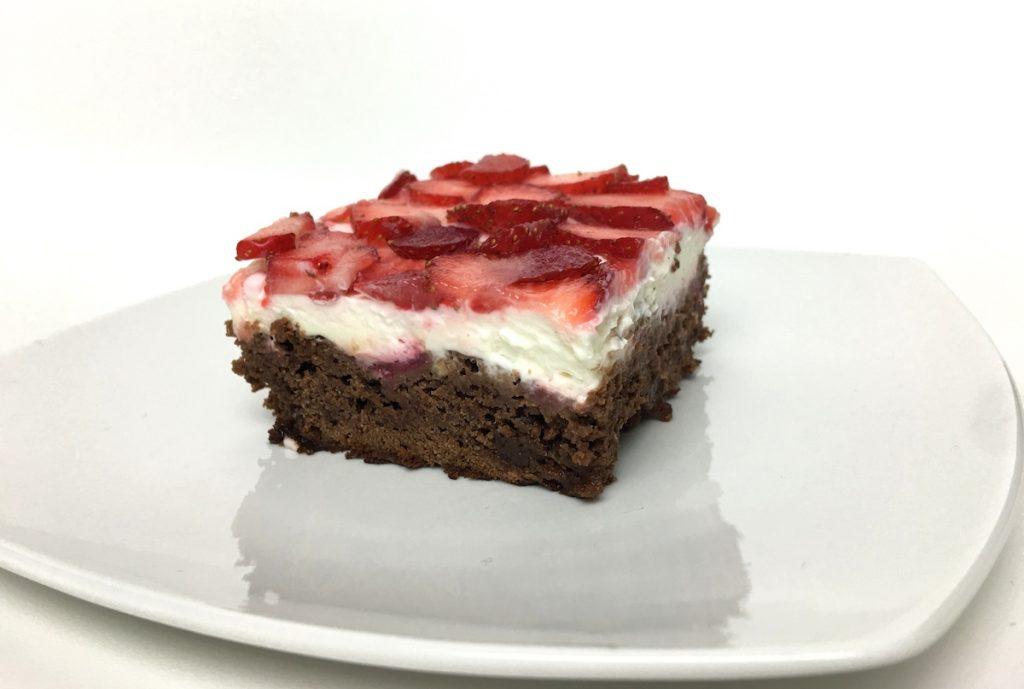 Erdbeer-Brownies Törtchen