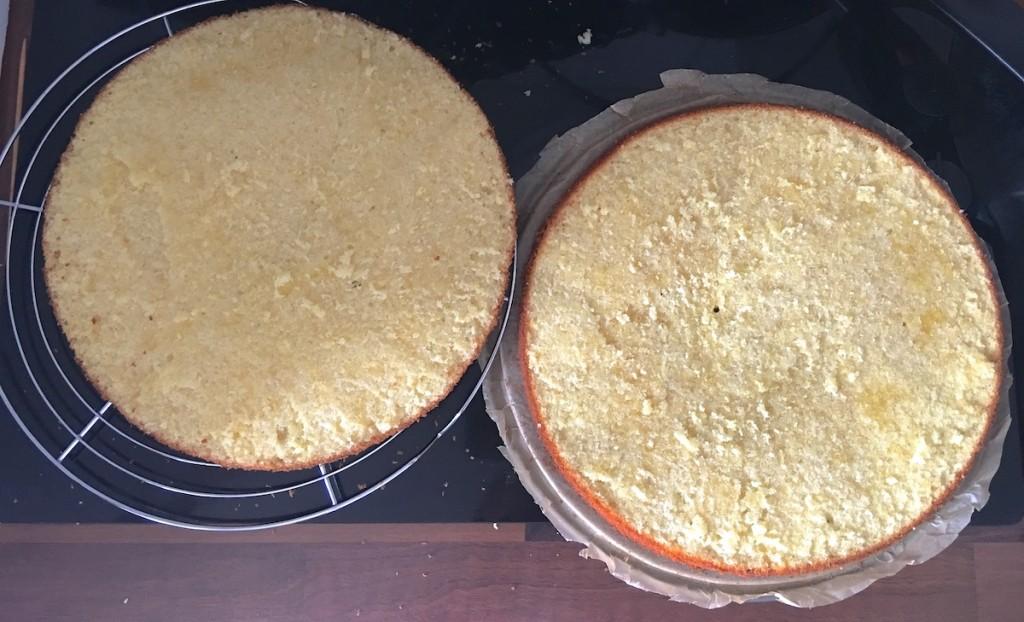 Zubereitung des Kuchens