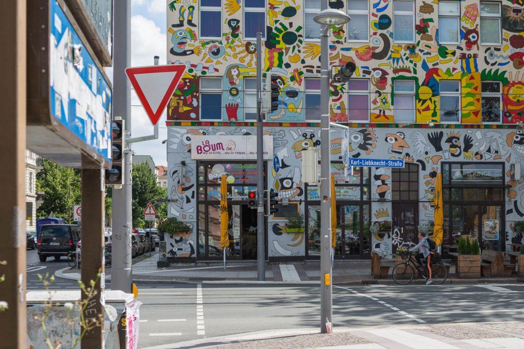 Cafés und Läden in Leipzig