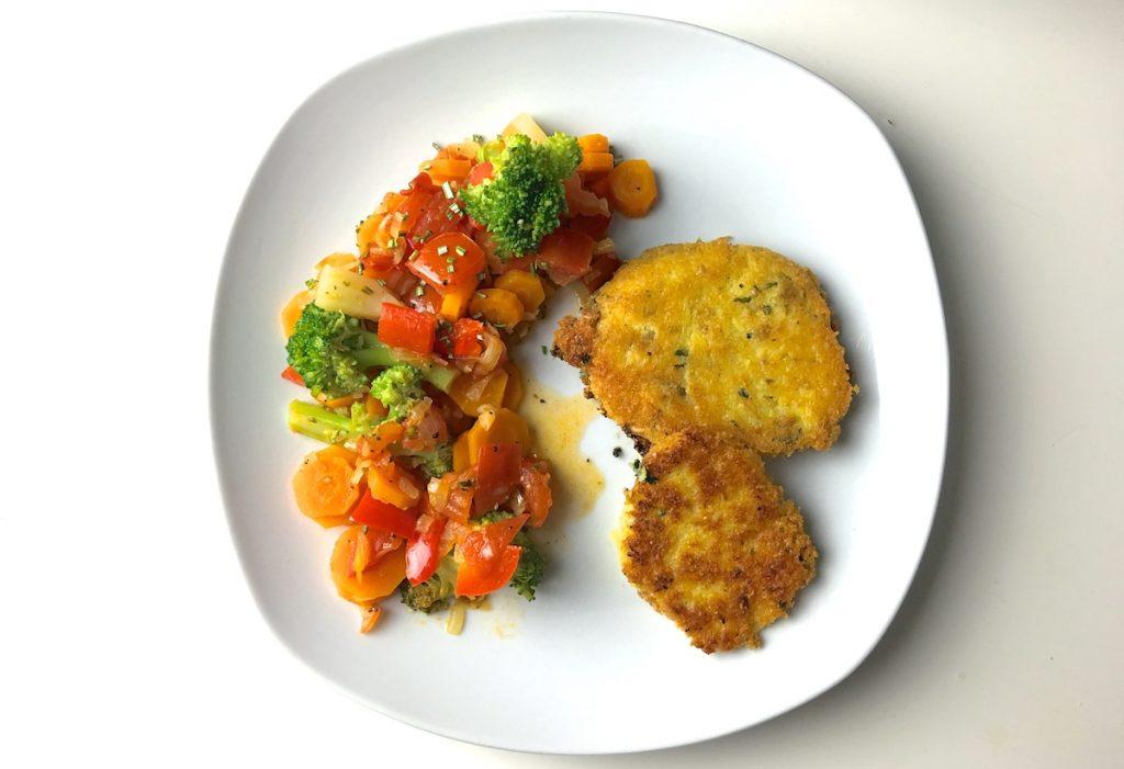 Polenta-Burger