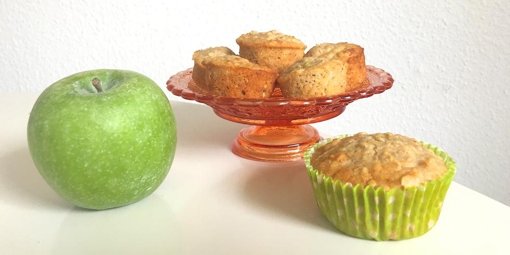 Apfel-Haferflocken-Muffins | Rezept