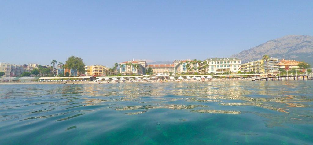 Hotel am Meer in Kemer
