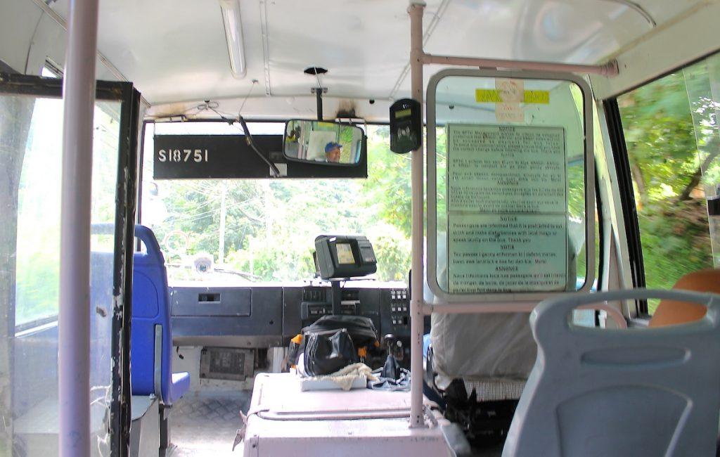 Spartipp Seychellen Bus fahren