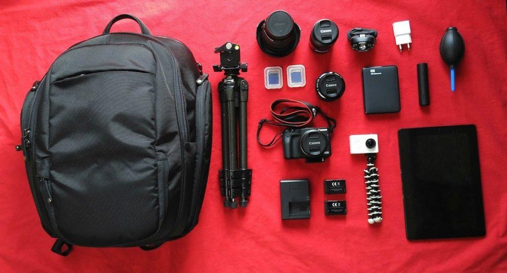 Fotoausrüstung für 8 Wochen Roadtrip