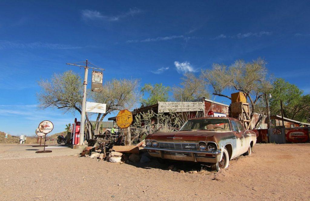 Oldtimer an der Route 66