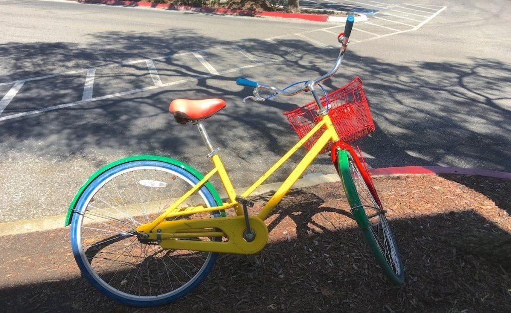 Google Fahrrad