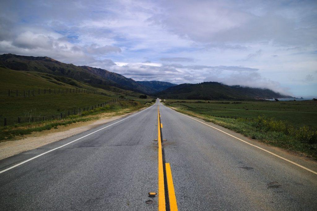 highway 1 bei Monterey