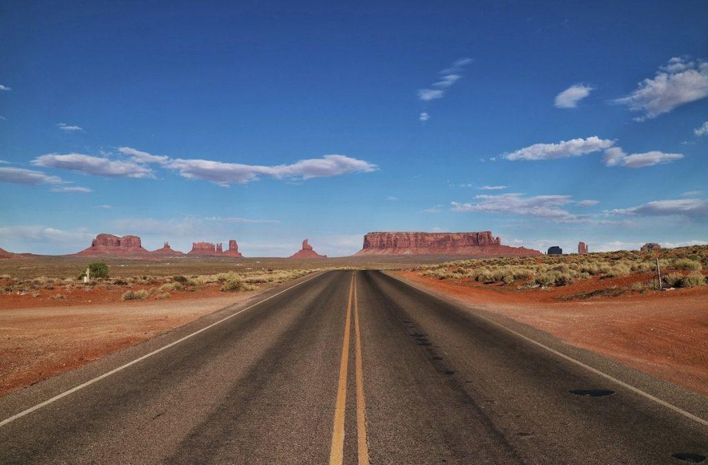Roadtrip mit Mietwagen