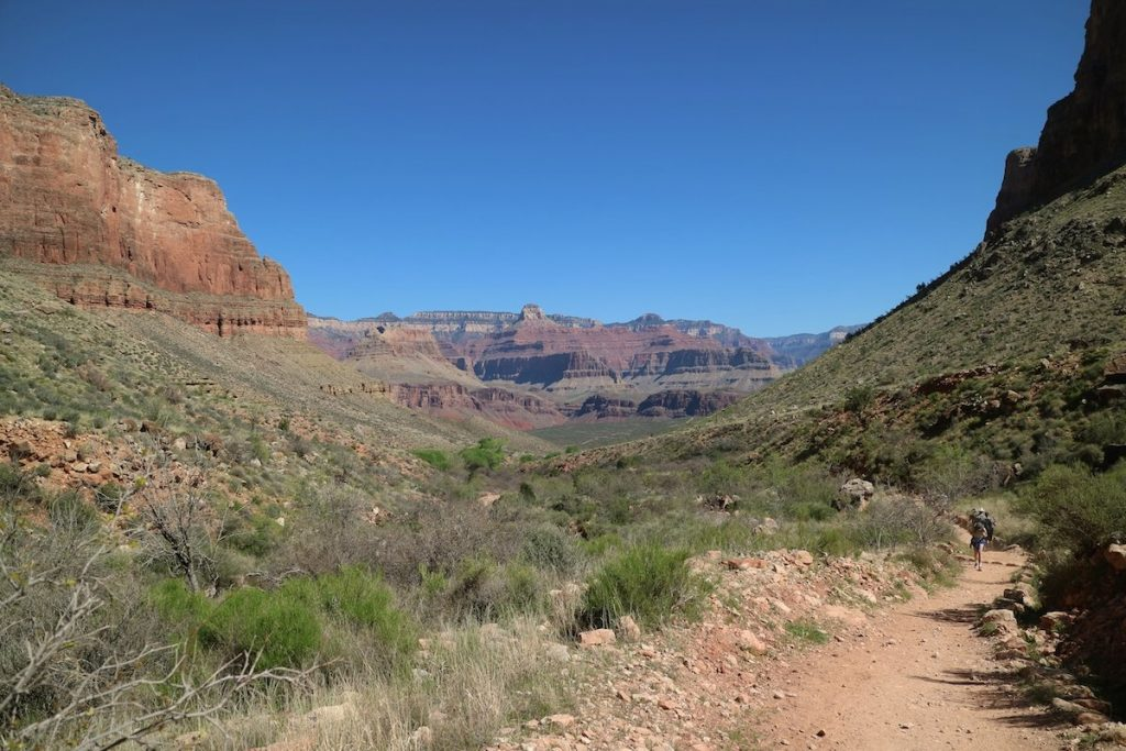 Wanderweg in den Grand Canyon