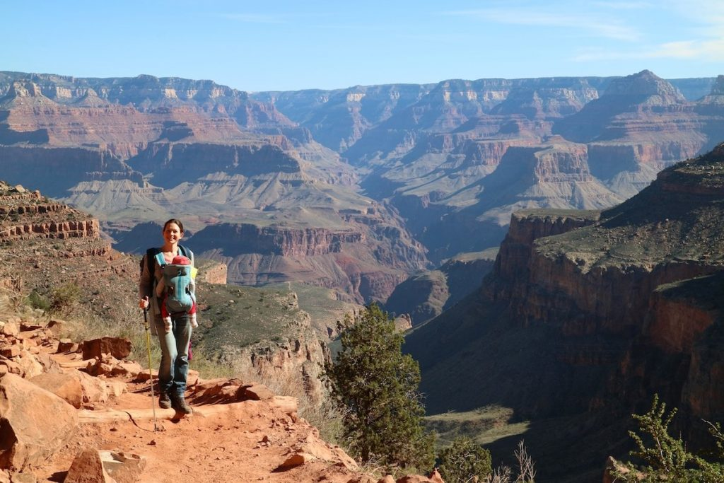 Wanderung in den Grand Canyon mit Baby