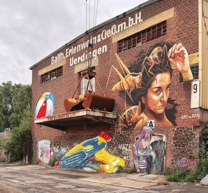 Rhine Side Gallery – Street Art in Krefeld