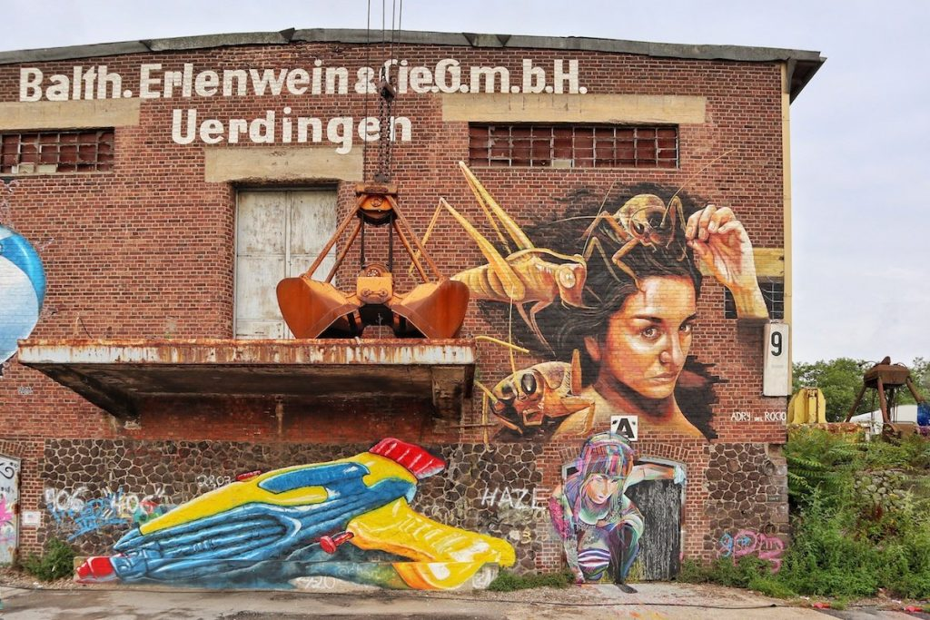 Street Art bei Düsseldorf