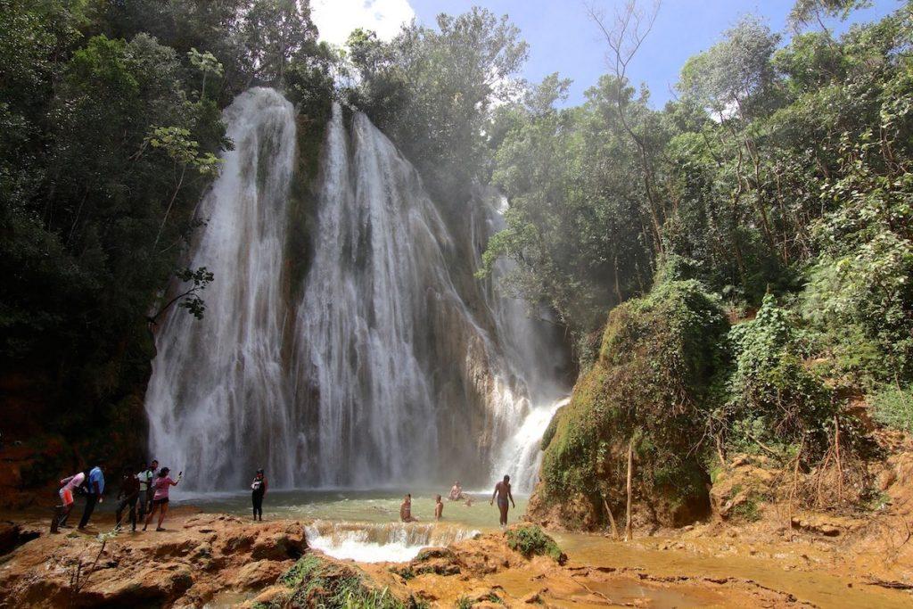 Ausflug zum Wasserfall el Limón