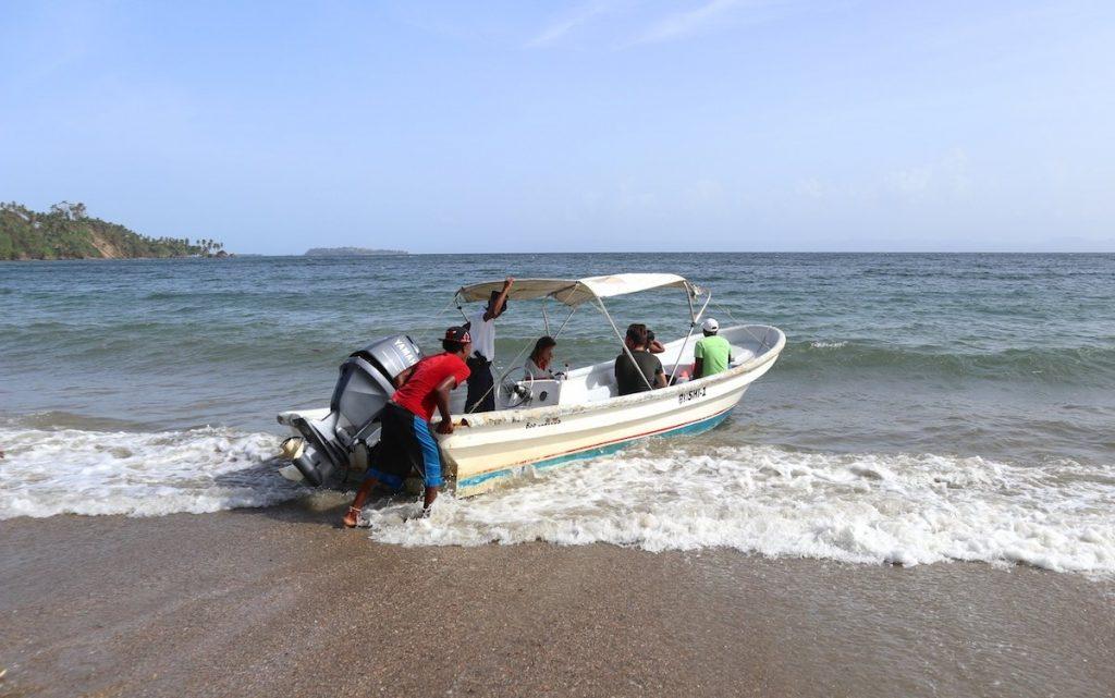 Boot Ausflug in der Dominikanischen Republik